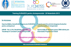 Training EURAXESS pentru antreprenori